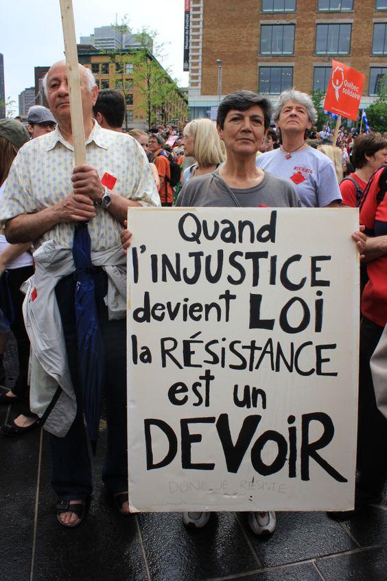 Manifestation des 100 jours - 22 mai 2012