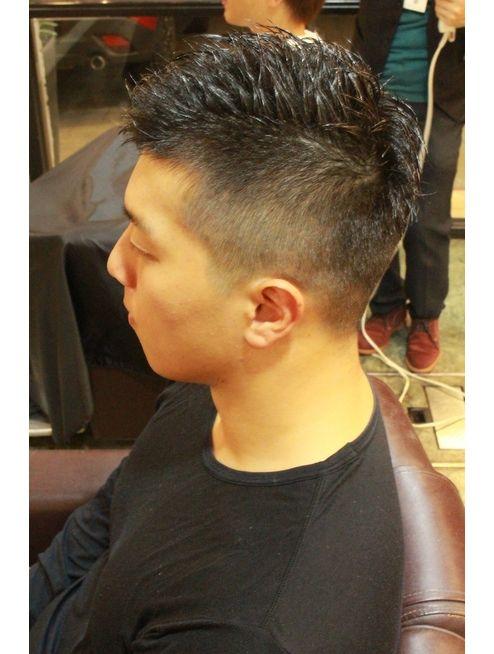 アシメ ソフトモヒカン L036412489 ディスパッチヘアー 甲子園店 Dispatch Hair のヘアカタログ ホットペッパービューティー ソフトモヒカン モヒカン メンズヘアスタイルフェード