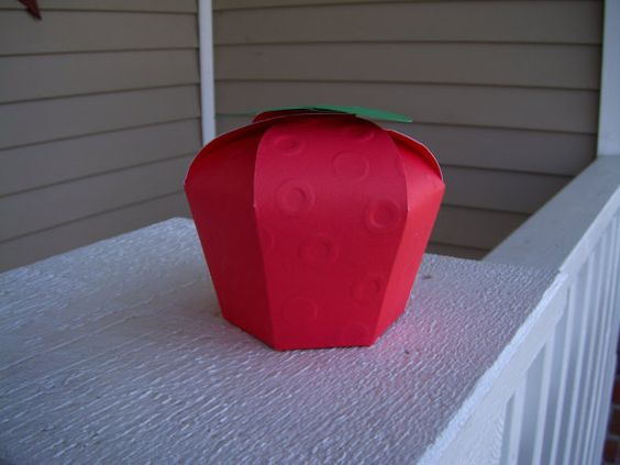Apple Favor Box set of 10 by zbrown5 on Etsy, $15.00