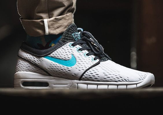 nike dunk haze salut - Nike SB Janoski Max (White/Clearwater) http://sneakers ...