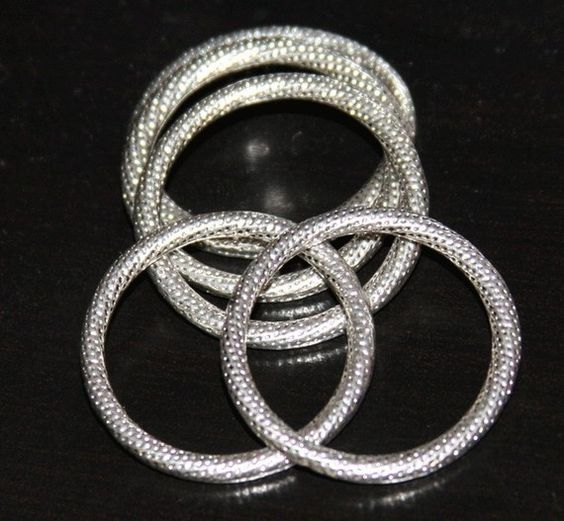 20 pcs of Antiqued silver pewter rings 29mm by yadanabeads on Etsy, $12.00
