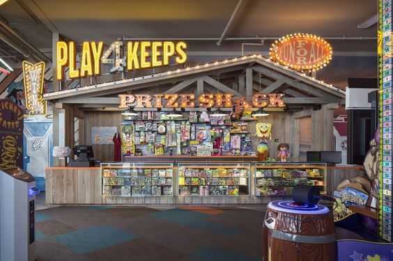 Interior Design For An Arcade In Mission Beach California