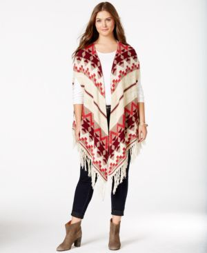 Jump into Spring with a Poncho