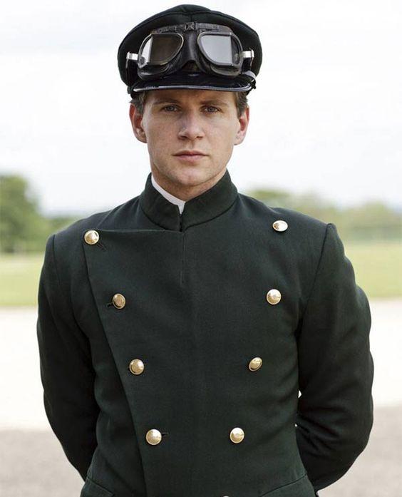 Allen Leech dans le rôle de Tom Branson dans « Downton Abbey »