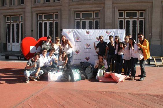 Argentina Ciudadana junto al resto de las organizaciones que formaron parte del grupo promotor de #undiaparadar en Argentina
