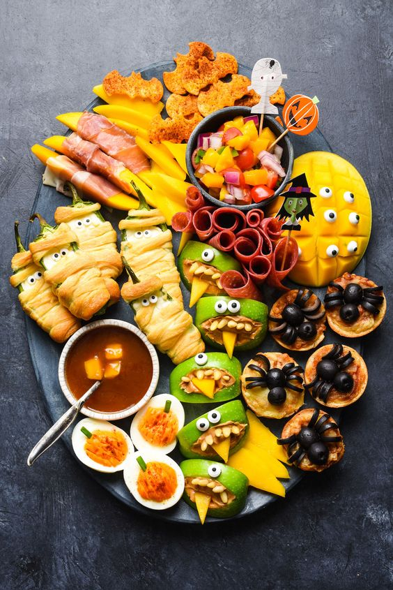 18 Fun Halloween Recipes for Your Spooky Parties. Including Adult Bevs.