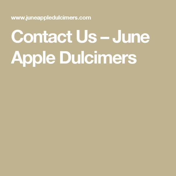 Contact Us – June Apple Dulcimers
