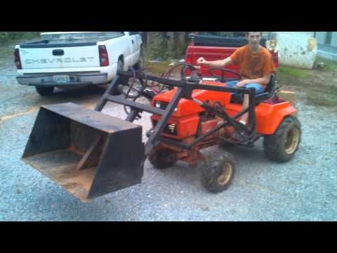 Ariens Gt 17 Home Made Frontloader Lawn Tractor Garden Tractor Lawn Mower
