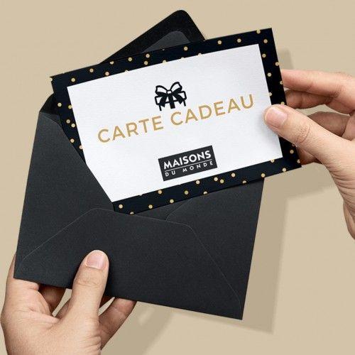 maisons du monde carte cadeau Carte cadeau meuble & décoration | Maisons du Monde (met