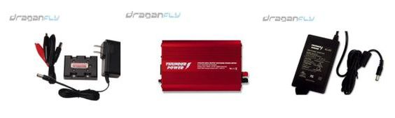 Draganfly Innovations Inc. carries products of top quality thunder power RC batteries, RC parts, RC Batteries and Chargers, RC Brushless Motor and RC Helicopters. We specializes in super affordable, high performance lithium polymer batteries.