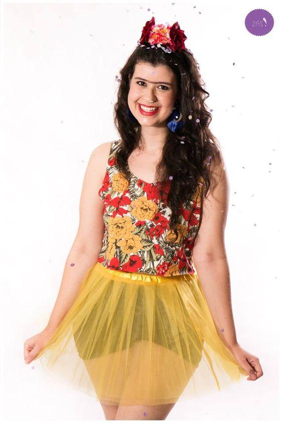 Leve todas as cores de Frida Kahlo para o seu carnaval! #Vemprazas