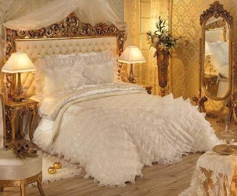 Designer Bridal Bed Sheets Wedding Bedsheets Online Shopping