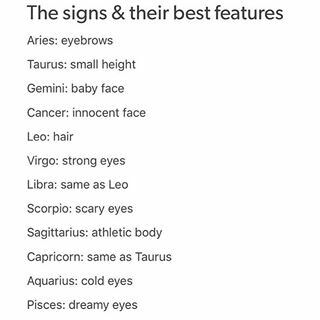 Consider, that aries facial features completely