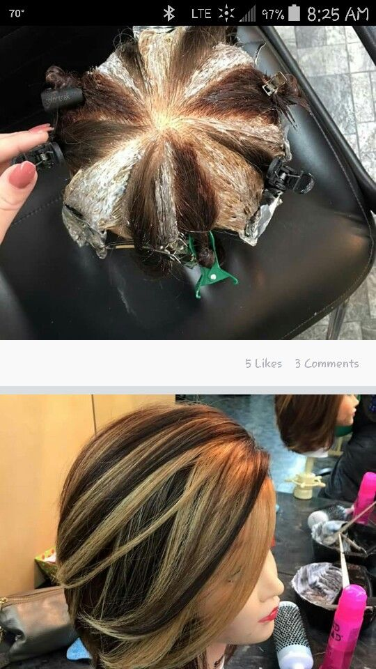 Pin wheel technique, nice color! | I Love hair products and tools ...