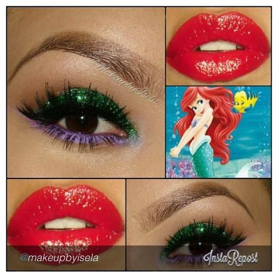 Makeup inspired, I'm going to try this.