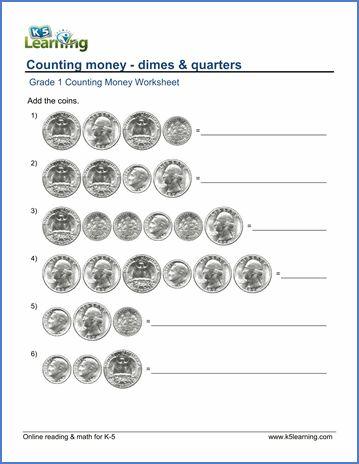 Counting Money Worksheets » Counting Money Worksheets Grade 1 ...