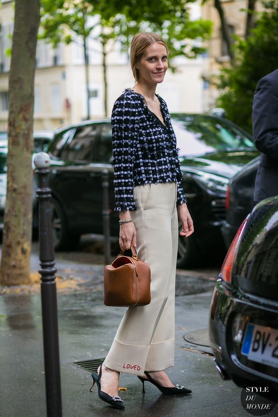 Haute Couture Fall / Winter 2017/18 Street Style: Vanessa Traina