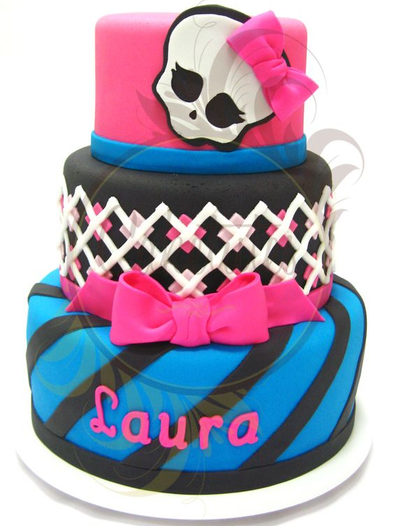 Monster High Cake - Caketutes Cake Designer: Bolo Monster High: