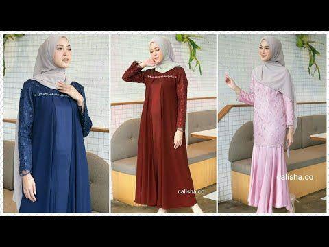 Trend Baju Gamis Terbaru Untuk Pesta Kondangan Lebaran 2020 Youtube Wanita Model Baju Wanita Gaun