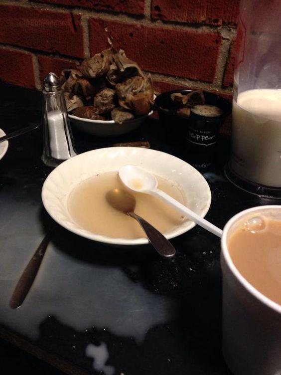 Witham Town tea