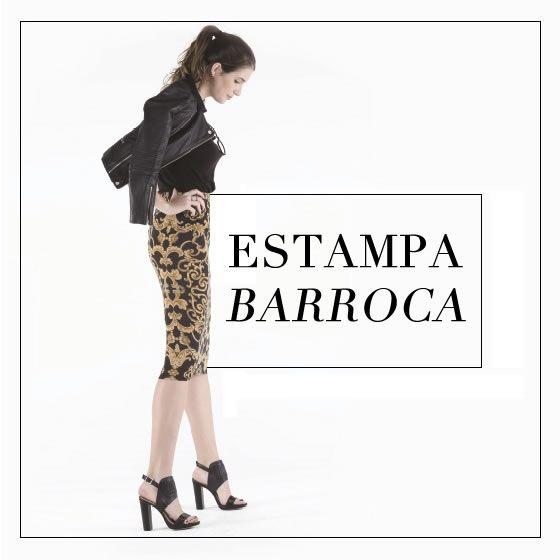 Estampa Barroca