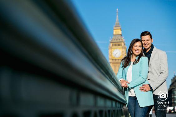 London Couple Photography - Big Ben London Eye and Trafalgar Square (13)