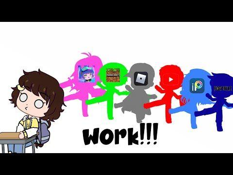 Work Meme Gacha Club Youtube Work Memes Memes Fictional Characters