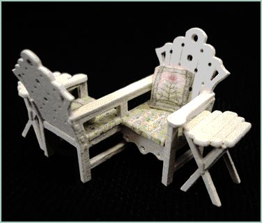 """1/4"""" Courting Bench"""