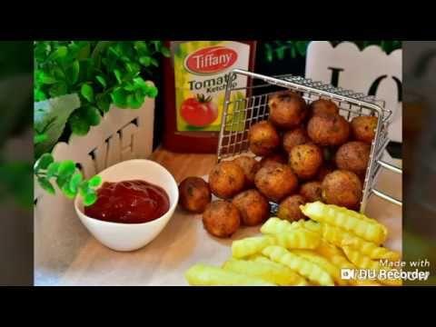 كرات البطاطا المقليه المقرمشه بوب كورن البطاطس المقليه Youtube Savory Appetizer Finger Foods Food