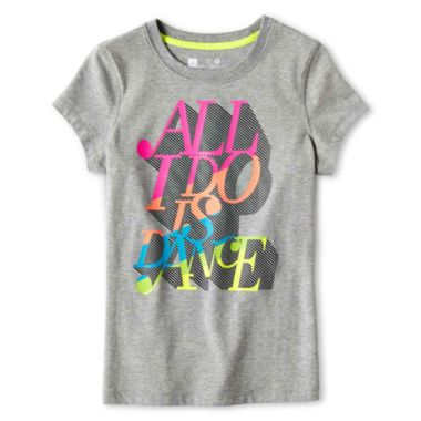 Xersion™ Core Graphic Short-Sleeve Tee - Girls 6-16 and Plus  found at @JCPenney