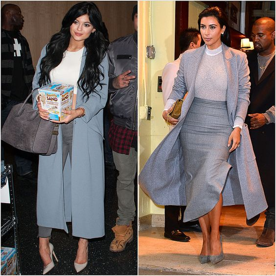 Like sister, like sister. Kylie Jenner has been borrowing her look from Kim!