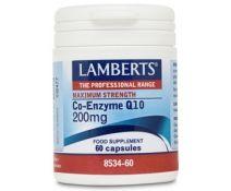 Lamberts Co-Enzima Q10 200mg 60 Capsulas