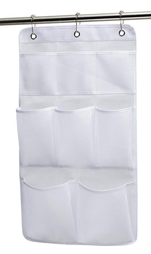 Amazon Com Kimbora Mesh Shower Organizer Hanging Bathroom Caddy 8