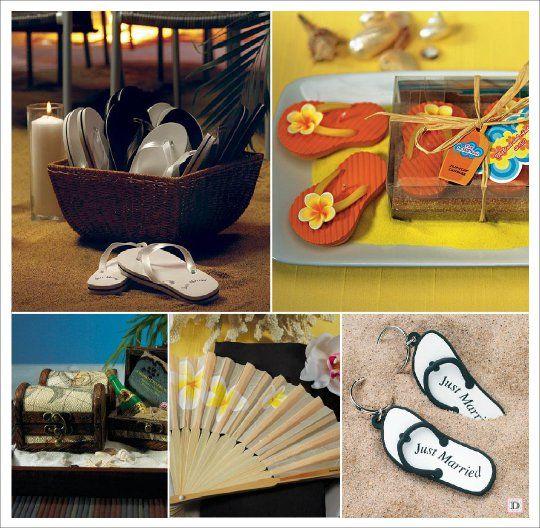 Decoration mariage mer cadeaux bougie tong eventail coffre for Decoration porte pour mariage