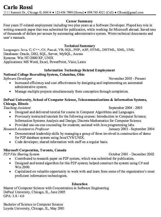 Example Of Aerospace Engineering Resume -    exampleresumecv - aerospace engineer resume