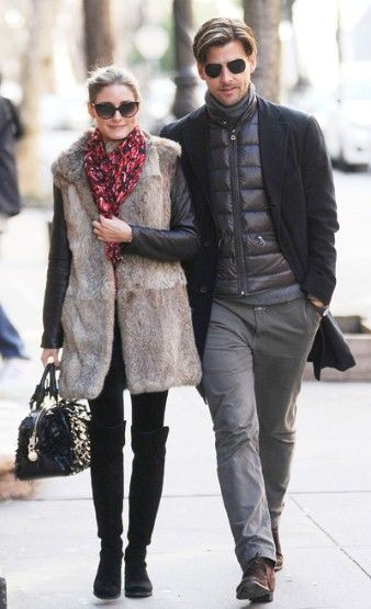 """""""Olivia Palermo and Johannes Huebl: the most disgustingly beautiful couple alive. And with possibly the slickest dress sense."""""""