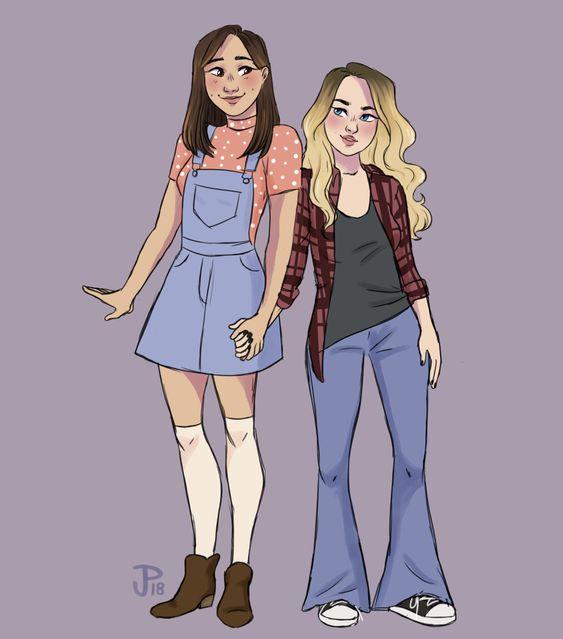 """jordynarily: """"peaches n honey """" (Riley& Maya)"""