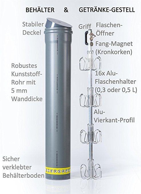 Biersafe Outdoor Garten Erdloch Bier Kuhler Beer Safe Cooler