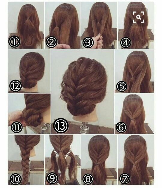 Pin By Joseph Conlin On Hair Styling Party Hairstyles For Long Hair Long Hair Styles Long Hair Tutorial