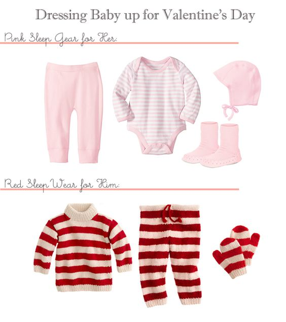 attic ideas pinterest - Valentine s Day Wear for Babies future loves