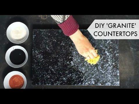 Countertop Paint Kit Black : Bombay Black Kit - Giani Countertop Paint Videos, Countertops and ...