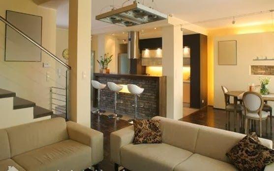 10 diseños de sala, comedor y cocina juntos   cas, living rooms