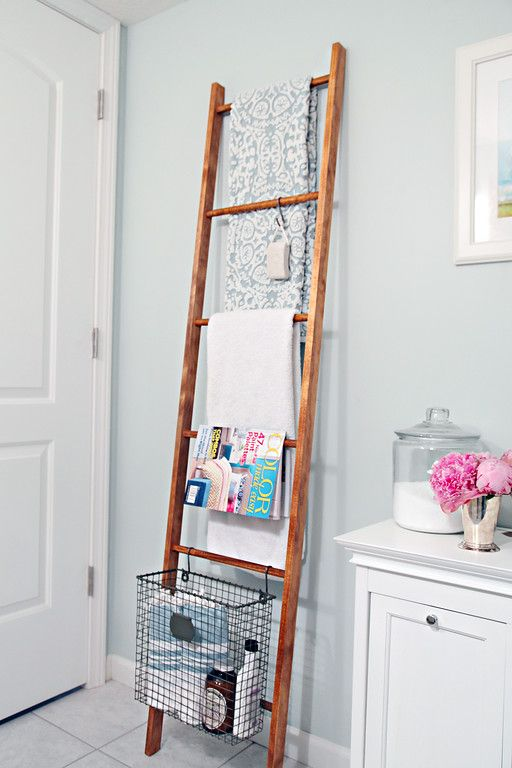 Diy Decorative Ladder Interieur Diy Interieur Kledingrek