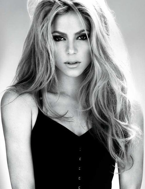 SHAKIRA! She's beautiful, sexy, and a humanitarian! I love what she does with…