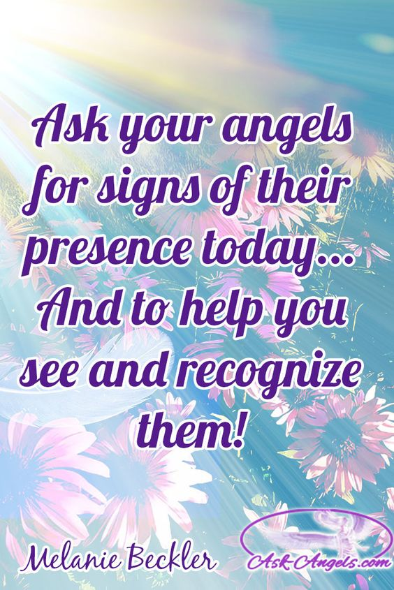 Ask your angels for signs of their presence today... And to help you see and recognize them!  #askangels