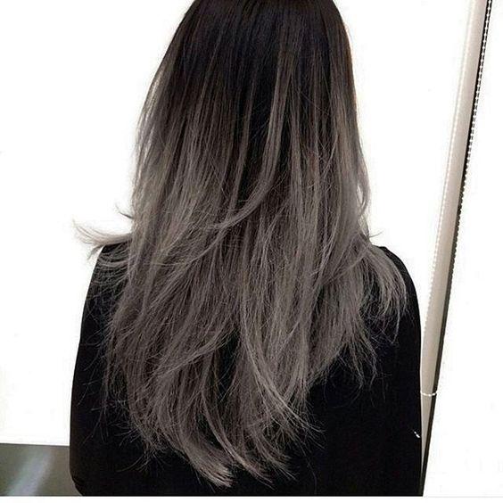 """foto de Top 100 """"silver ombre hair grey ombre hair"""" photos My next"""