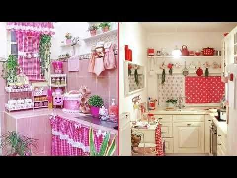 اروع مفارش المطبخ عودة موضة شراشف المطبخ روعة Youtube Home Deco Deco Home