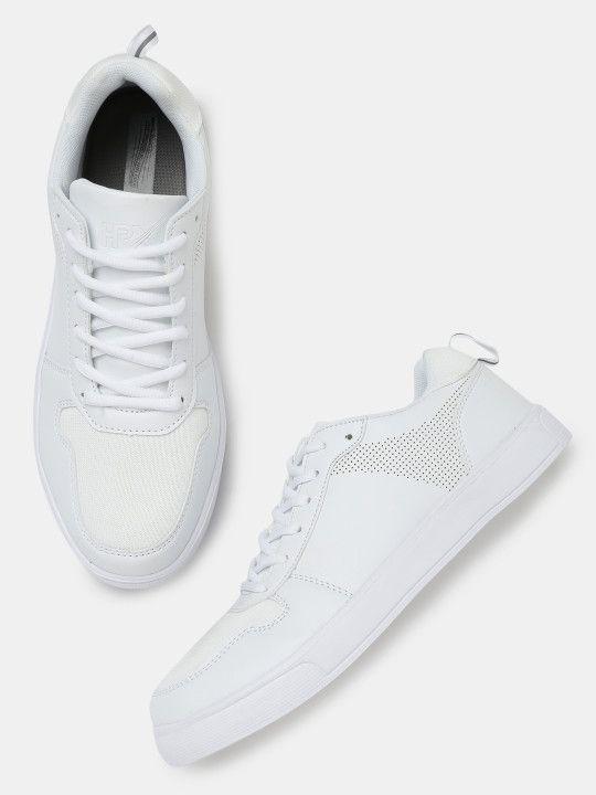 Hrithik Roshan Men White Pro Sneakers