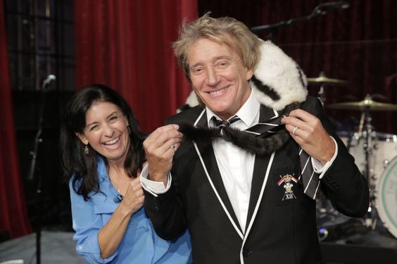 Julie Scardina And Rod Stewart | GRAMMY.com: