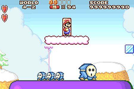 Super Mario Advance : Super Mario Bros. 2 - GBA